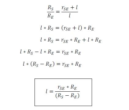 Berechnung zur Mondfinsternis